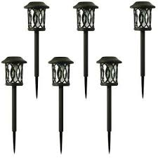 Outdoor Solar Landscape Lights Solar Landscape Lighting Outdoor Lighting The Home Depot