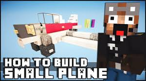 minecraft car pe minecraft vehicle tutorial small plane minecraft pinterest