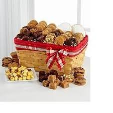 bakery basket picnic basket of cookies bakery basket in salisbury ma flowers by