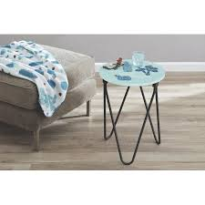 Teal Accent Table Mainstays Accent Table Cactus Walmart Com
