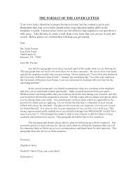 How To Write A Handwritten Letter Format Cover Letter Templates