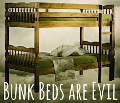 Bunk Beds Are Evil  Scary Mommy - Half bunk bed