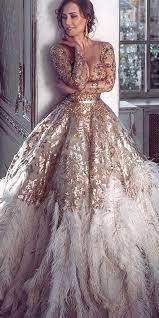 feather wedding dress wedding feather dress