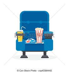 chaise bleue chaise bleue une bleu plat vecteur illustration vecteur