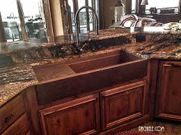 Hundreds Of Photos Of Copper Sinks Installed In Kitchens - Copper kitchen sink reviews