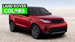 land rover discovery sport red 2017 range rover discovery colors youtube