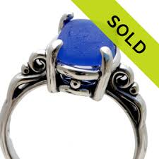 sea glass engagement rings sold sea glass jewelry gallery sold sea glass rings page 1
