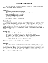 positive behavior intervention plan template chainimage