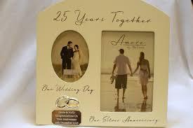 25 wedding anniversary gift 9 personalised 25th wedding anniversary gifts personalised 25th