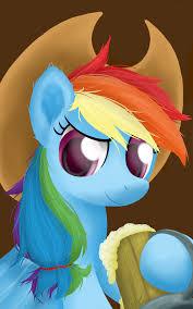 cowgirl rainbow dash by symbianl on deviantart