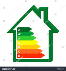 energy saving house 3d color icon energy class home stock vector 666910918 shutterstock