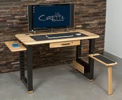 Small Apartment Desks Loft Computer Desk Ash Caretta Workspace