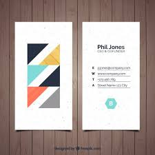 E Business Cards Free Stylish And Minimalist Business Card Vector Free Download