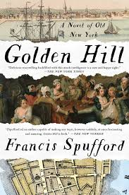 what song is playing in the background at the halloween party over the garden wall golden hill a novel of old new york francis spufford