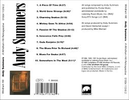 andy summers a windham hill retrospective 1998 windham hill