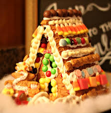 secret trick to gingerbread houses
