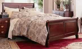 King Sleigh Bedroom Sets by Kincaid Carriage House Solid Wood King Sleigh Bed 60 152p