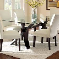 Round Glass Top Dining Table Set Great Chairs For Glass Dining Table With Round Glass Dining Table