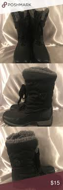womens black winter boots size 9 black winter boots size 9 faux fur black winter boots fur