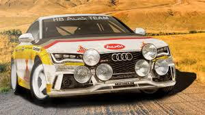 audi rally audi rs7 group b rally car rendered top gear