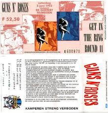 Lyrics To Change Blind Melon Gnrontour Com Gn U0027r Setlist Almanac 1993