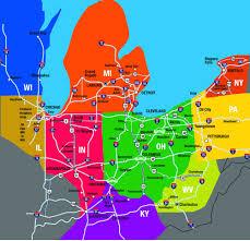 map of ohio untitled manuscript map of part us including missouri brilliant