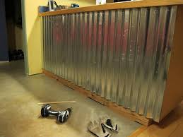 Interior Paneling Home Depot by Corrugated Metal Panels For Interior Walls Best House Design