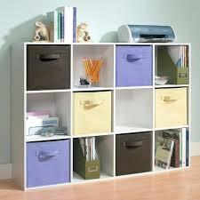 Cube Bookshelves Sling Bookcase With Storage Bins Shelf With Hidden Gun Storage