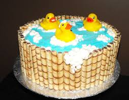 rubby ducky baby shower cake cakecentral com