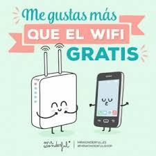 imagenes chistosas y tiernas imagenes tiernas y chistosas de amor me gustas mas que el wifi