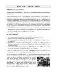 russia u0027s new economic policy nep reaction worksheet lesson