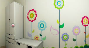 Girls Bedroom Wall Murals Photo Wallpaper Hd Childrens Room Rainbow Air Balloon Dream
