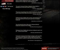 universal studios orlando halloween horror nights reviews halloween horror nights quotes yours truly hollywood gothique