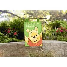 disney winnie the pooh garden flag outdoor living outdoor decor