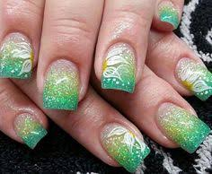 60 ombre nail art designs easy nail art silver glitter and nail