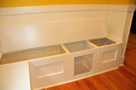 breakfast nook table with storage bench kitchen nook storage