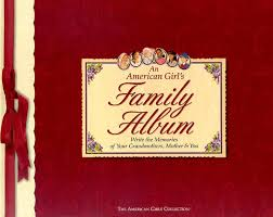 family photo album an american girl s family album american collection