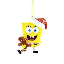 kurt adler spongebob and with hat ornaments