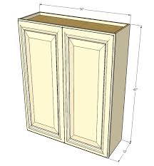 42 Inch Tall Kitchen Wall Cabinets by Large Double Door Tuscany White Maple Wall Cabinet 30 Inch Wide