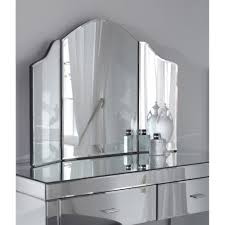 Small White Vanity Table Bedroom Furniture Mirrored Dressing Table Drawers Small Mirrored