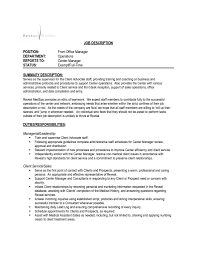 sample resume office manager template intended for 17 excellent
