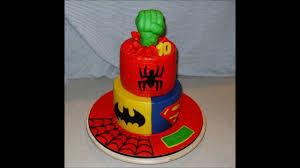 superhero birthday cake youtube