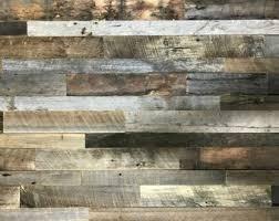 3 wood wall reclaimed wood etsy