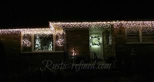 Cheap Christmas Lights Christmas Lights Around Windows A Popular Place To Hang Lights