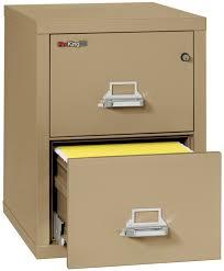 2 Drawer Vertical Filing Cabinet by Fireking 25