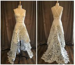 paper wedding dress a st louis designer created your wedding dress out of