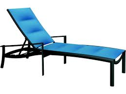 Tropitone Shoreline by Tropitone Kor Padded Sling Aluminum Chaise Lounge 891532ps