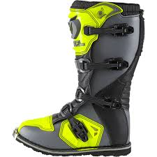 yellow motocross boots oneal rider motocross boots black white enduro boat quad mx 42 43