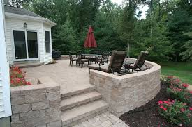 Raised Paver Patio Raised Paver Patio Contemporary Patio Boston By Perennial