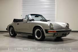 burgundy porsche panamera 1984 porsche 911 cabriolet pewter metallic 54 607 miles sloan cars